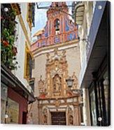 Chapel Of St. Joseph Of Seville Acrylic Print by Artur Bogacki