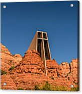 Chapel Of The Holy Cross Acrylic Print