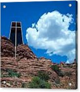 Chapel Of The Holy Cross In Sedona Acrylic Print