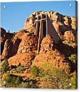 Chapel Of The Holy Cross Sedona Arizona 100 Acrylic Print