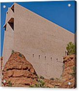 Chapel Of The Holy Cross Sedona Az Side Acrylic Print