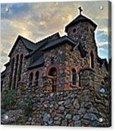 Chapel On The Rock 2012 Acrylic Print