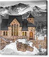 Chapel On The Rock Bwsc Acrylic Print