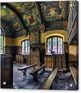 Chapel Paintings Acrylic Print