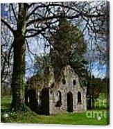 Chapel Ruins Acrylic Print
