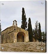 Chapelle Saint Sixte Acrylic Print