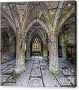 Chapter House Interior Acrylic Print