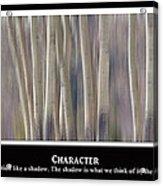 Character Acrylic Print