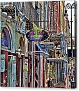 Characteristics Of New Orleans  V2 Acrylic Print