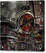 Characteristics Of New Orleans V5 Acrylic Print