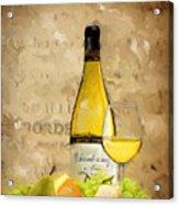 Chardonnay Iv Acrylic Print