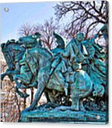 Charge On The Capitol Acrylic Print