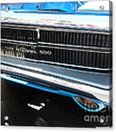 Charger 500 Front Grill And Emblem Acrylic Print