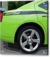 Charger Daytona Acrylic Print
