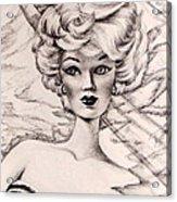 Charice Doll Acrylic Print