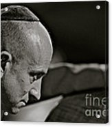Charismatic Faces -  Bass Player - Roman . Acrylic Print