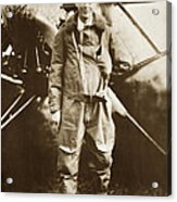 Charles A. Lindbergh And Spirit Of St. Louis May 12 1927 Acrylic Print