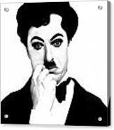 Charles Chaplin Acrylic Print