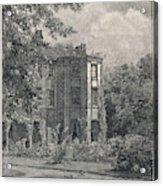 Charles Darwin's Home At Downe, Kent - Acrylic Print