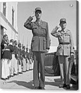 Charles De Gaulle In Carthage Tunisia 1943 Acrylic Print