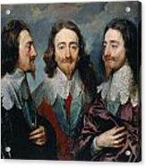 Charles I Acrylic Print