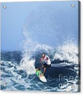 Charles Martin Pro Surfer In Hawaii Acrylic Print