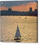 Charles River, Boston Acrylic Print