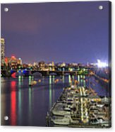 Charles River Country Club Acrylic Print