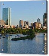 Charles River Reflection Acrylic Print