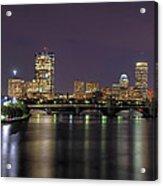 Charles River Reflections - Boston Acrylic Print by Joann Vitali