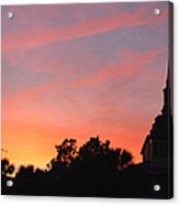 Charleston At Dusk Acrylic Print