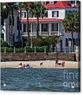 Charleston Beach Acrylic Print