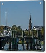Charleston Charm Acrylic Print