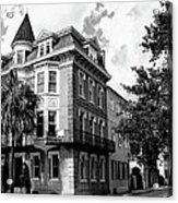 Charleston Corner Charleston Sc Acrylic Print