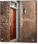 Charleston Door Acrylic Print