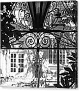 Charleston Gateway II In Black And White Acrylic Print