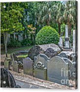 Charleston Graveyard Acrylic Print