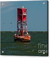 Charleston Harbor Buoy Acrylic Print