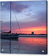 Charleston Harbor Acrylic Print