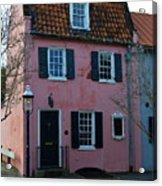 Charleston Historic District Acrylic Print