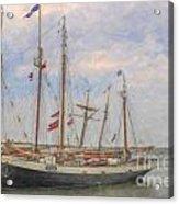 Charleston Ships Acrylic Print