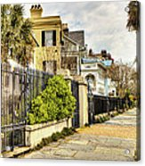 Charleston Sidewalk Acrylic Print