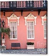 Charleston South Carolina - The Mills House - Art Deco Architecture Acrylic Print