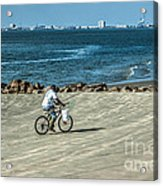 Charleston Surf Fishing Acrylic Print