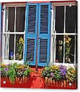 Charleston Windows Acrylic Print