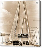 Charleston's Arthur Ravenel Jr. Bridge Acrylic Print