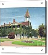 Charlevoix Michigan - The Chicago Club - 1908 Acrylic Print