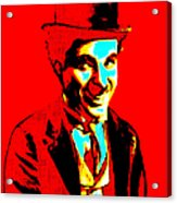 Charlie Chaplin 20130212 Acrylic Print by Wingsdomain Art and Photography