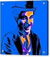 Charlie Chaplin 20130212m145 Acrylic Print by Wingsdomain Art and Photography