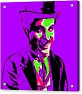 Charlie Chaplin 20130212m78 Acrylic Print
